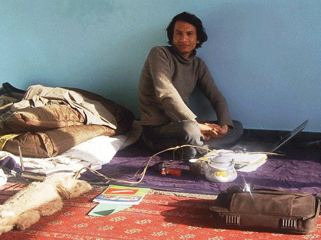 Kamran Mir Hazar in Kabul (2007)